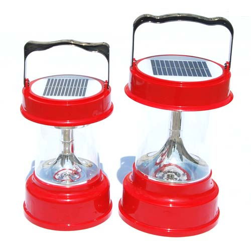 solar camping light - small size and normal size